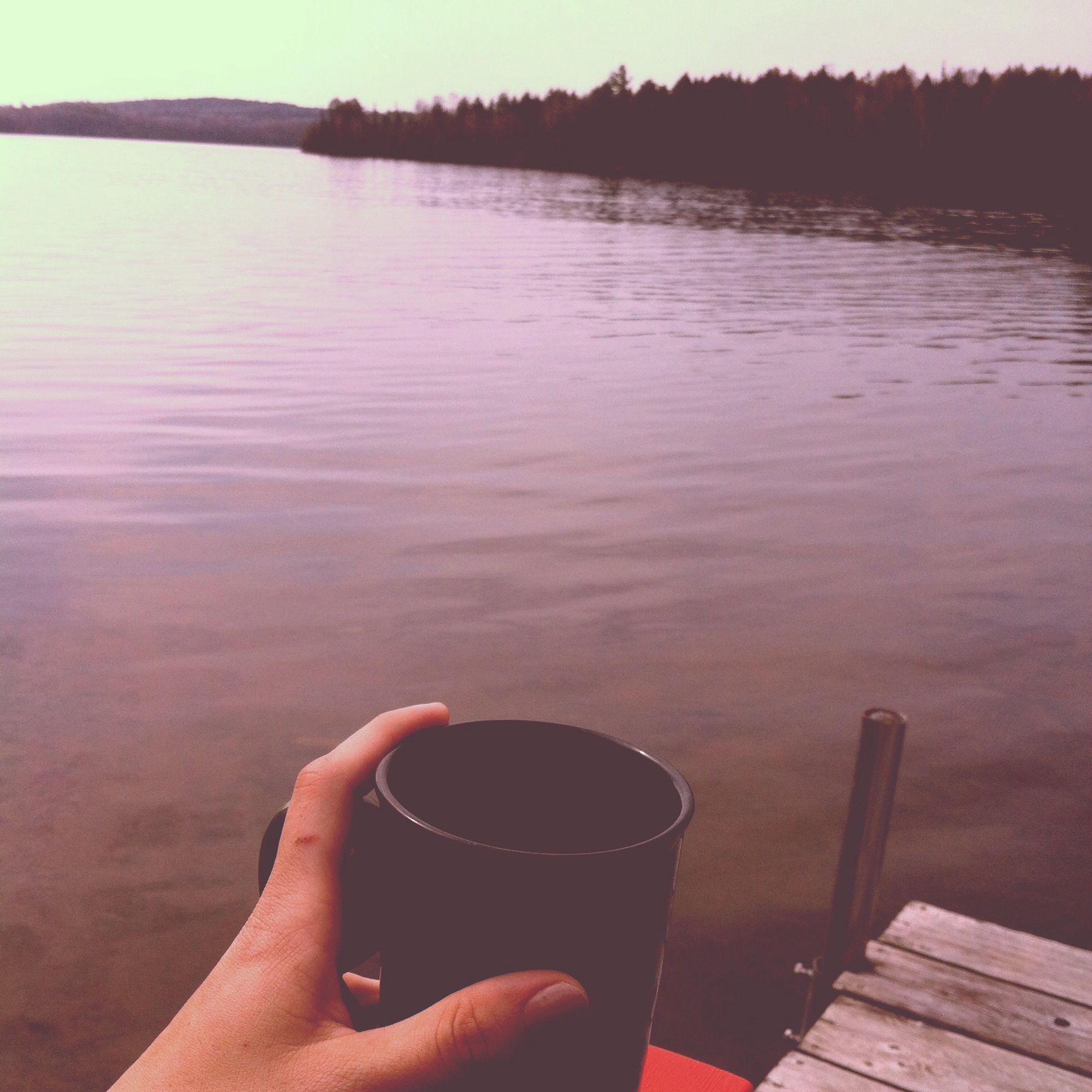Paugh lake sunrise
