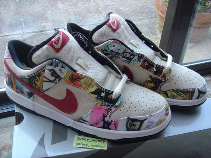 60fb3b6f1142b Nike Dunk Low Pro SB Paris    Sneakers art series   Sneaker Art ...