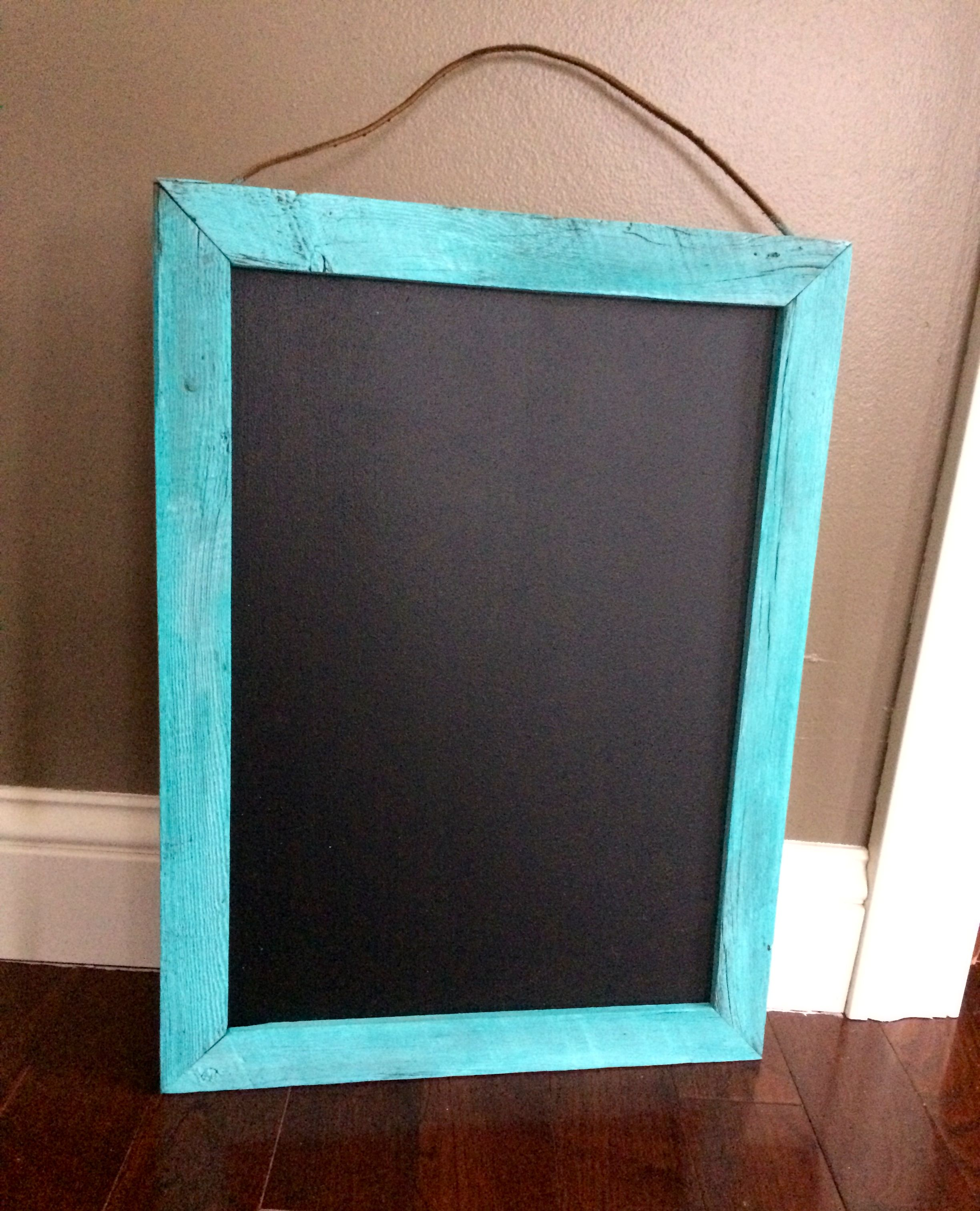 DIY Chalkboard Frame | Chalkboard frames, Diy chalkboard and Chalkboards