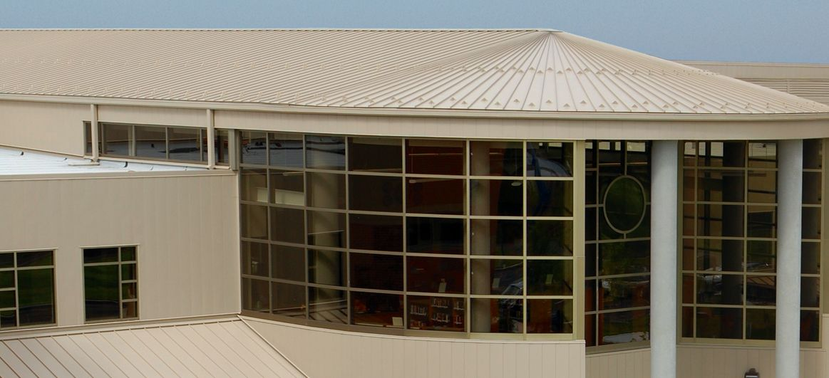 Berridge Tee Panel Is An Extremely Versatile Metal Roofing System It Is Ideal For Residential Or Metal Roofing Systems Corrugated Metal Roof Roof Construction