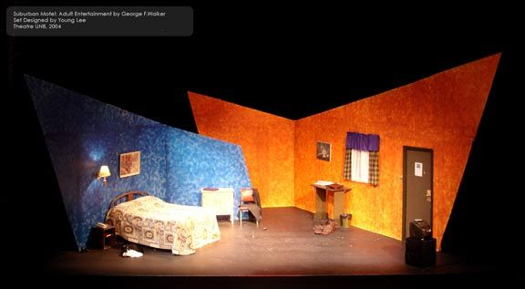 The Set Design Shows The Audience That The Scene Takes Place In A
