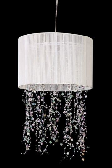 Sea Wasp White Deco Chandelier by All That Shimmers Lighting on @HauteLook