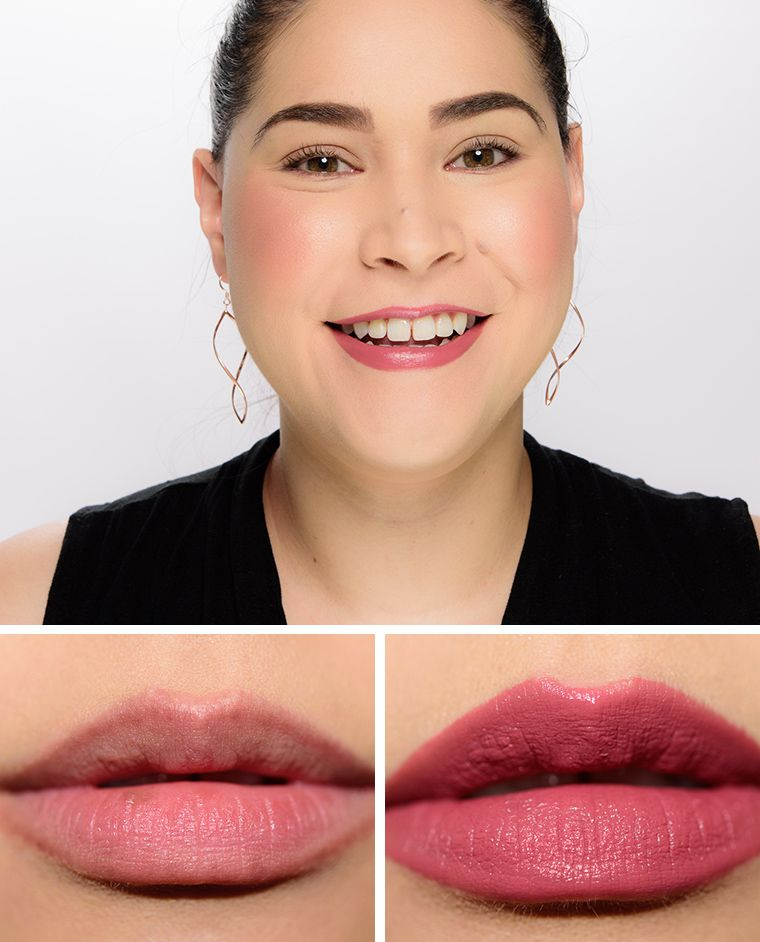 Photo of Shiseido Streaming Mauve (208) VisionAiry Gel Lipstick Review & Swatches
