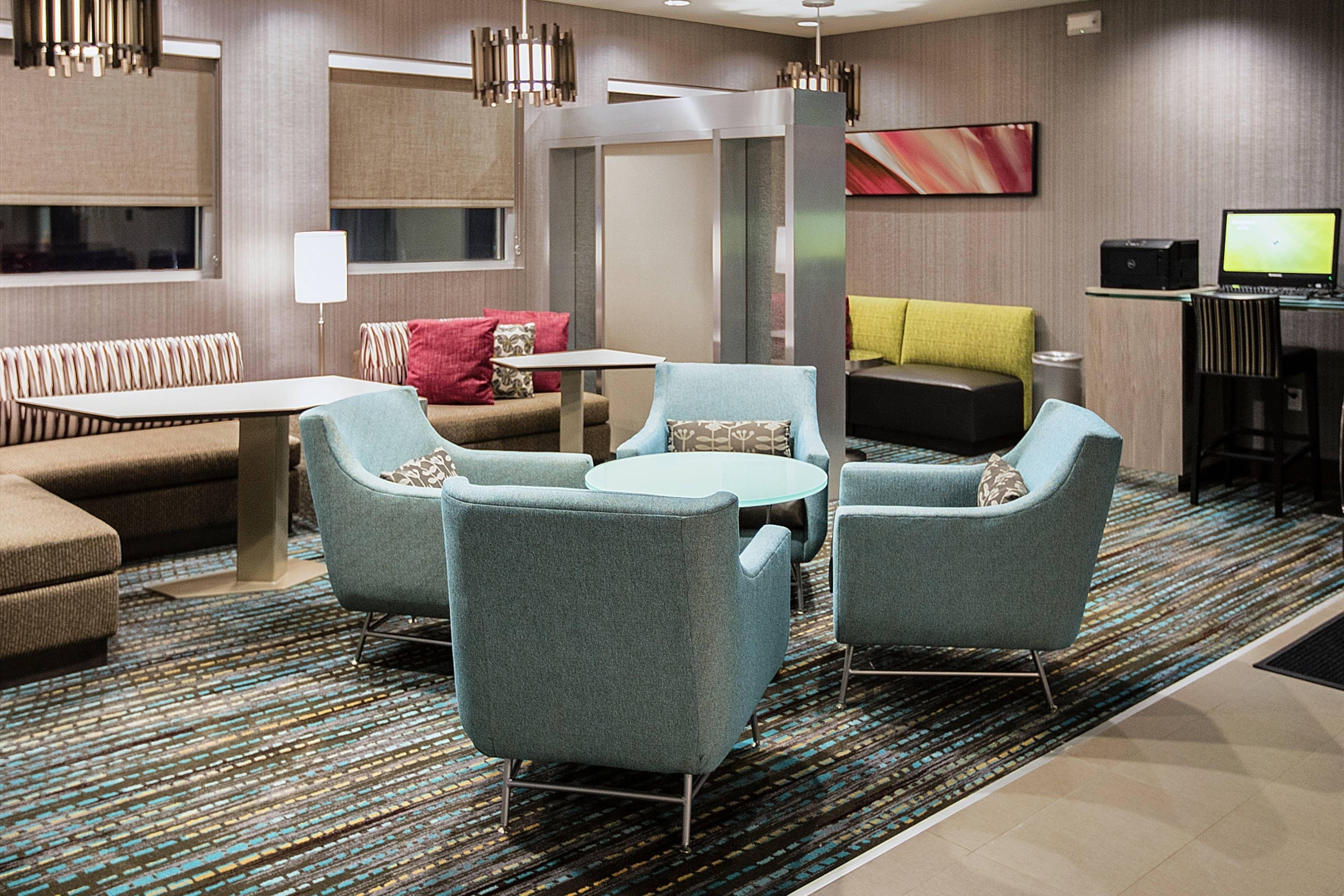 Residence Inn Lake Charles Lobby Guestroom Travel Guestroom