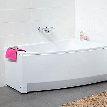 Kylpyamme IDO Seven D 1500 akryyli epäsymmetrinen oikea valkoinen - Taloon.com