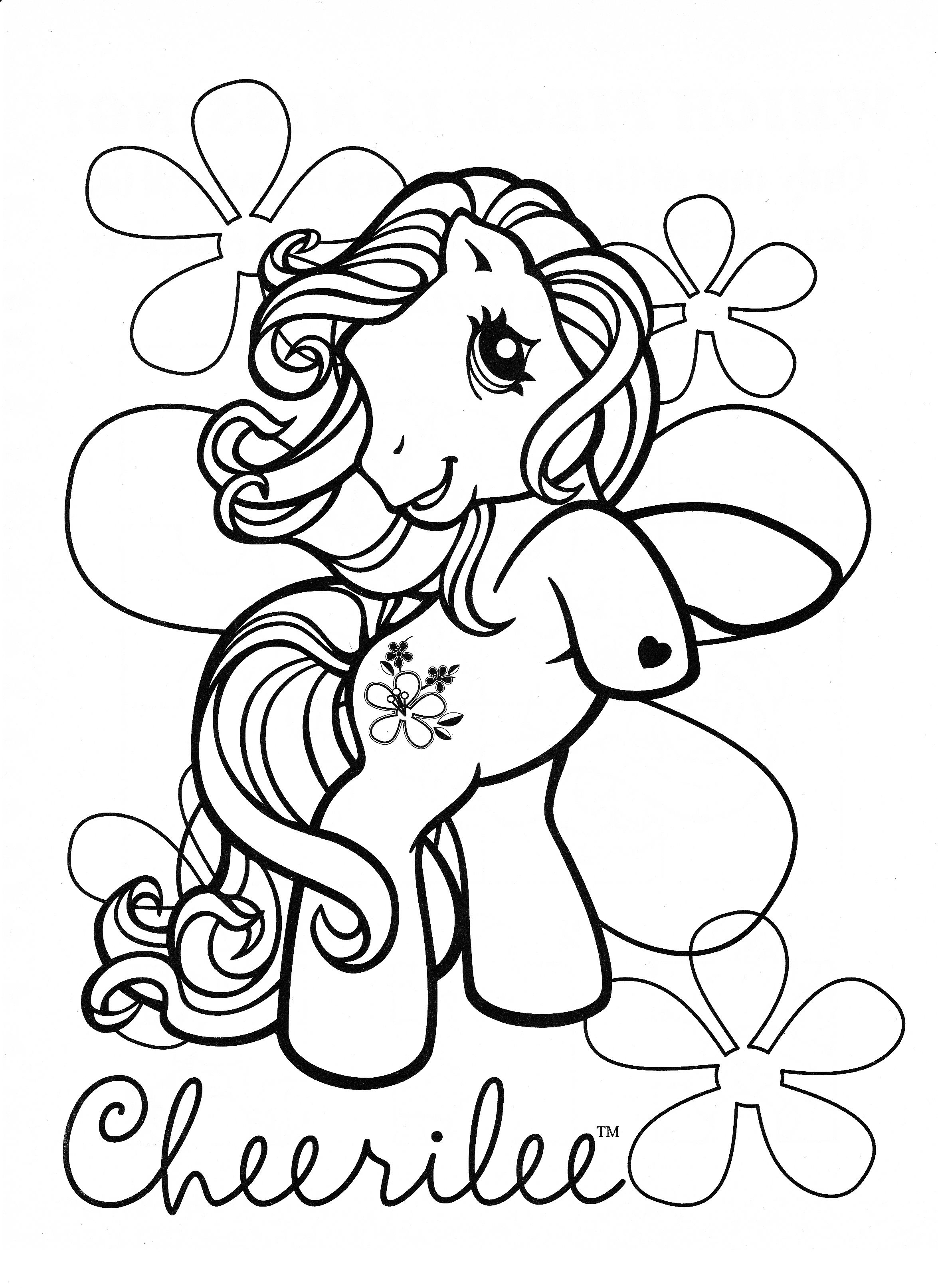 My Little Pony Coloring Page Mlp Cheerilee Cool Coloring Pages Coloring Pages My Little Pony Coloring