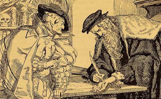 Fausto y Mefisto