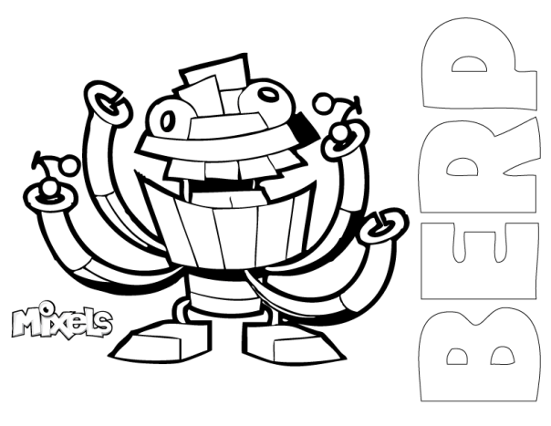 Mixels Coloring Pages My Little Corner Di 2020