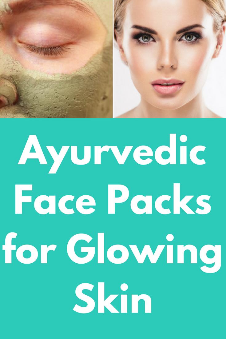 Ayurvedic Face Packs for Glowing Skin  Glowing skin, Beauty hacks