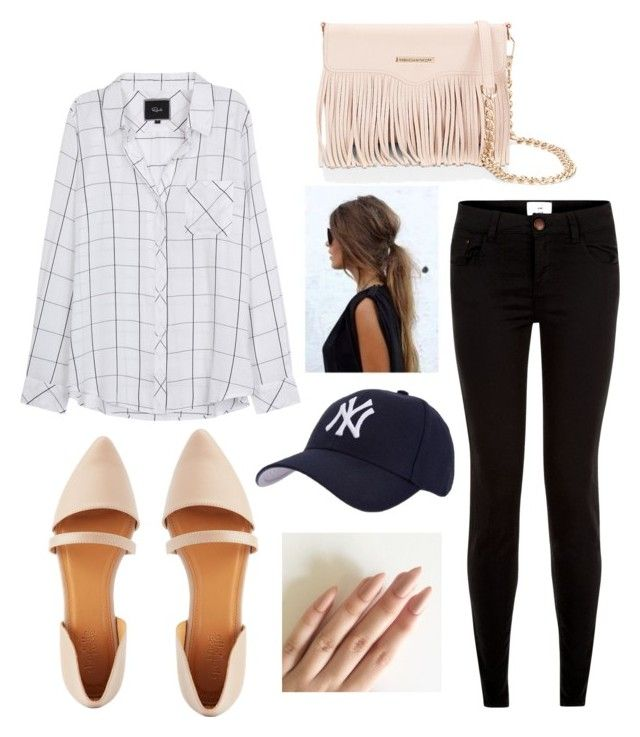 """DAY OUT"" by juliyagrig ❤ liked on Polyvore featuring Rails, Charlotte Russe, New Look, Rebecca Minkoff and Hartford"