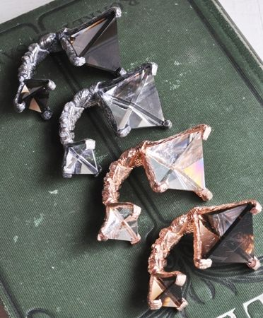 Unearthen Large Prism Ring $300.00
