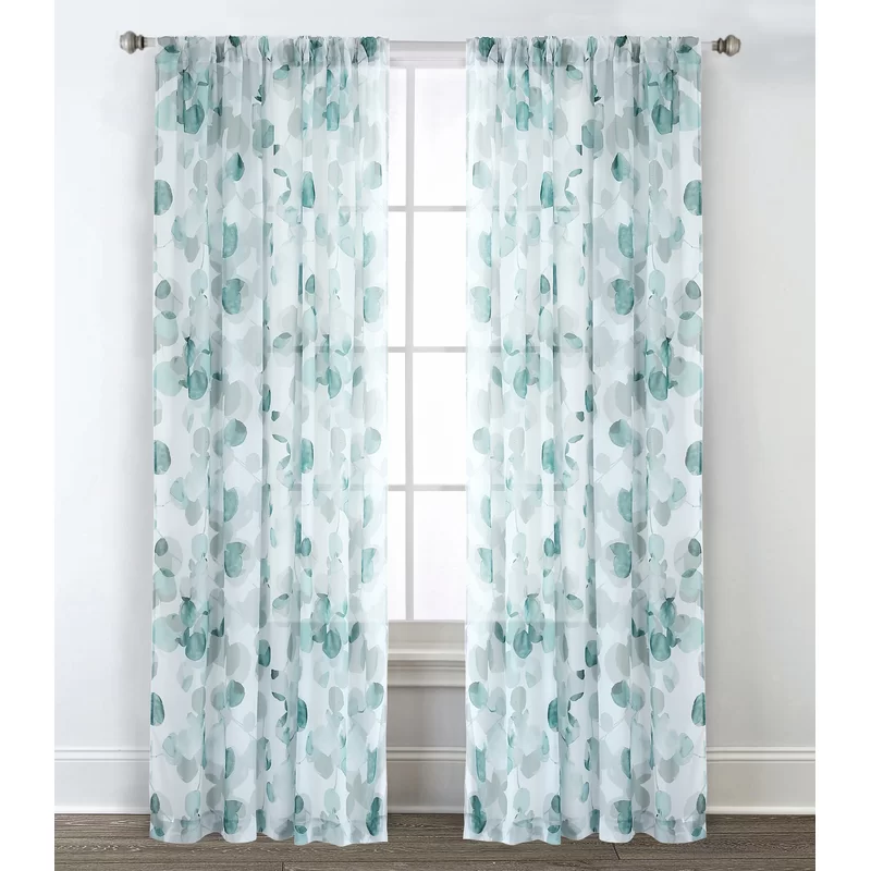 Crumbley Geometric Semi Sheer Curtain Panels With Images Living Room Decor Curtains Unique Curtains Curtains