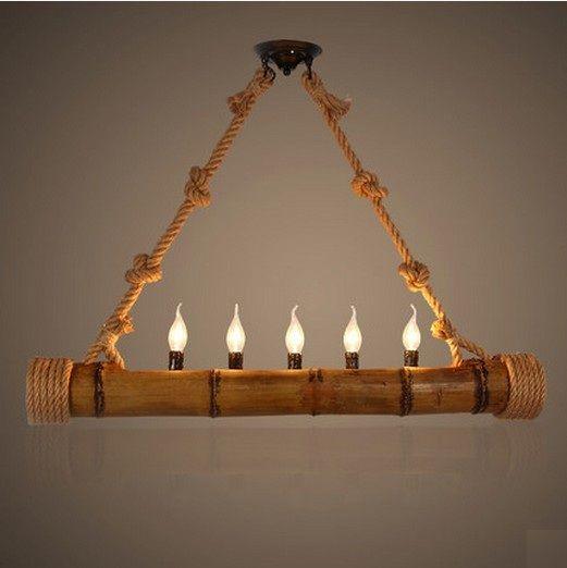 lamparas de bambu - Buscar con Google Ideas para el hogar