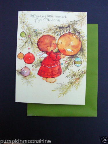 F700 Vintage Unused Mary Hamilton Xmas Greeting Card