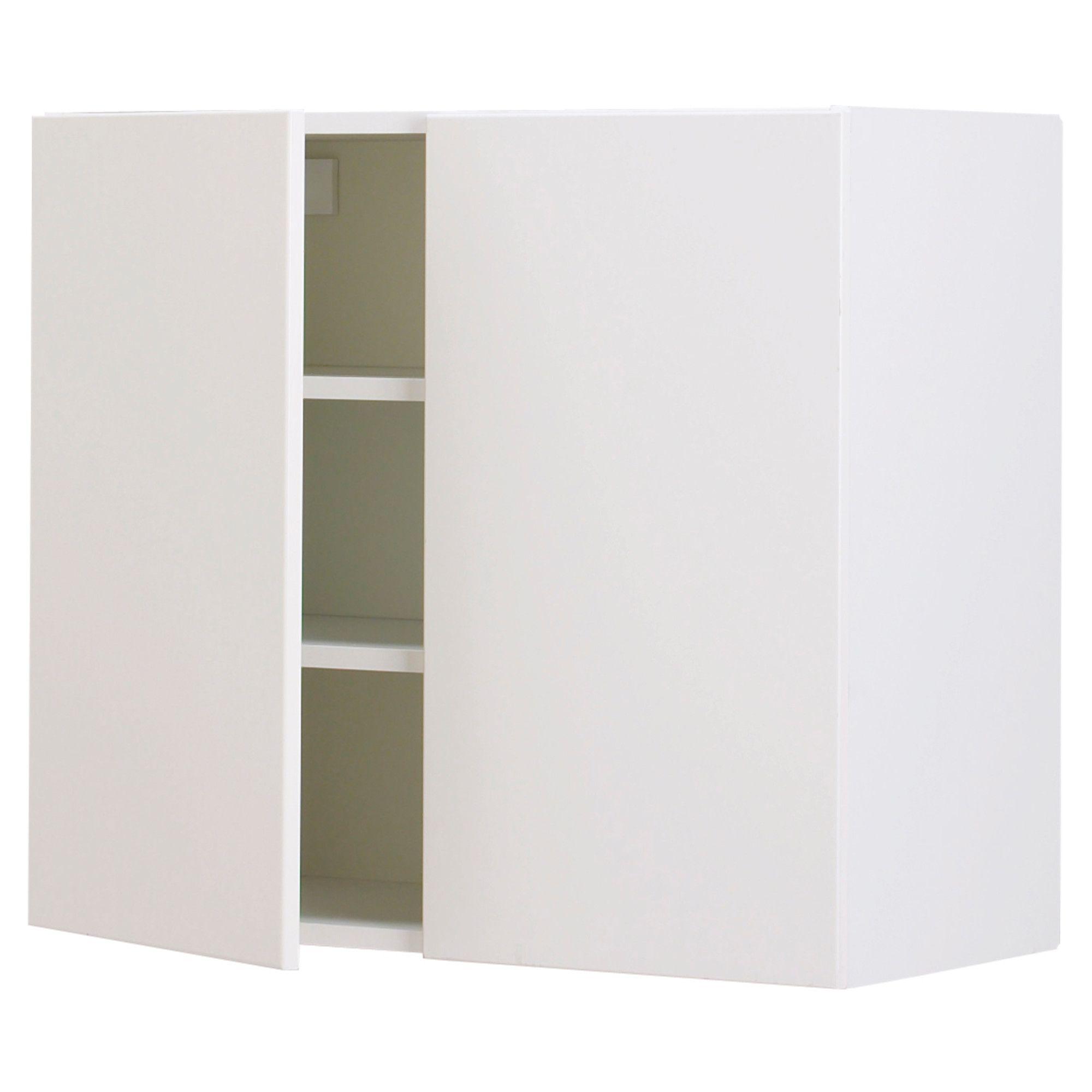 Ikea Applad Weiß: FAKTUM Wandschrank Mit 2 Türen