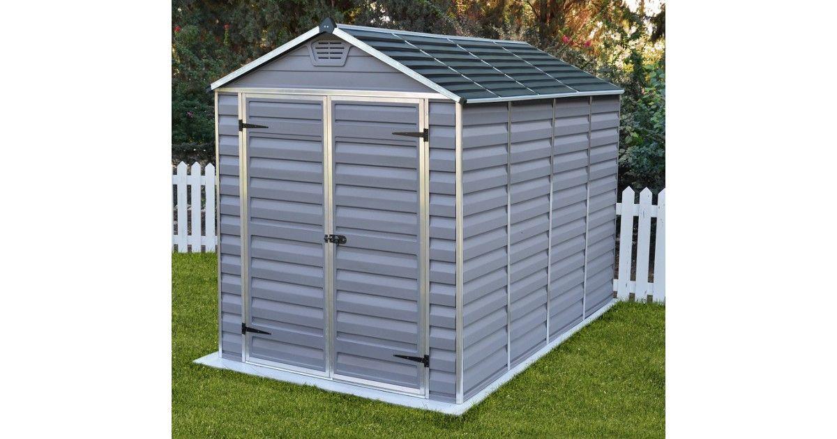 Tool house for garden SkyLight 6×10 Gray – Garden …