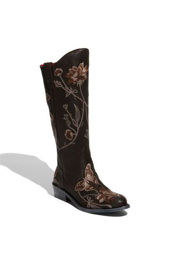 Beverly Feldman 'Base' Boot | Boots, Embroidered boots