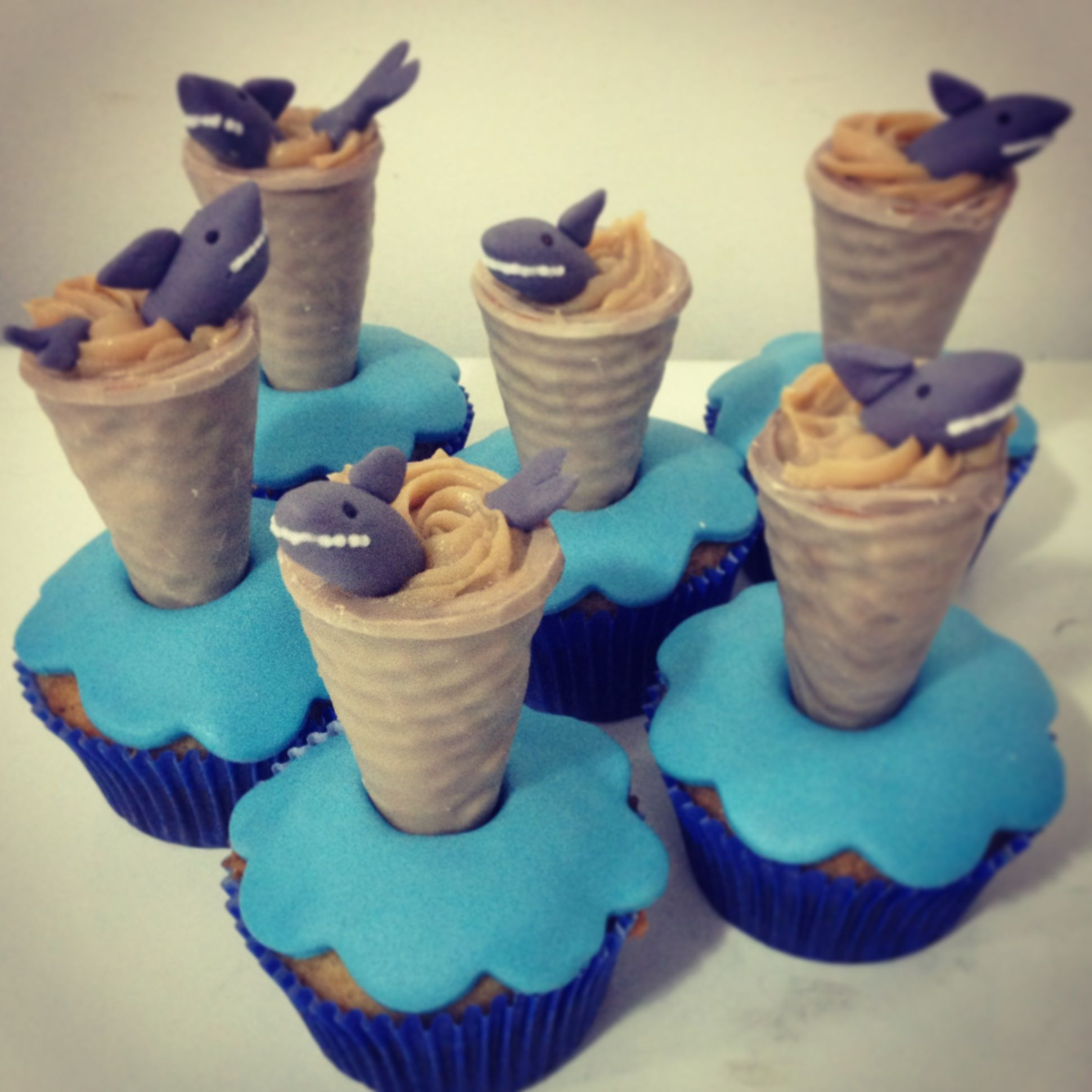 Sharknado Cupcakes Must Figure Out How To Reverse Engineer These