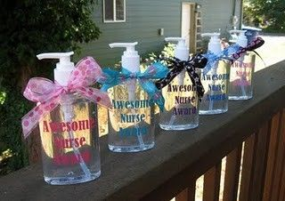 Personalized Hand Sanitizer Makes A Great Gift For Nurses