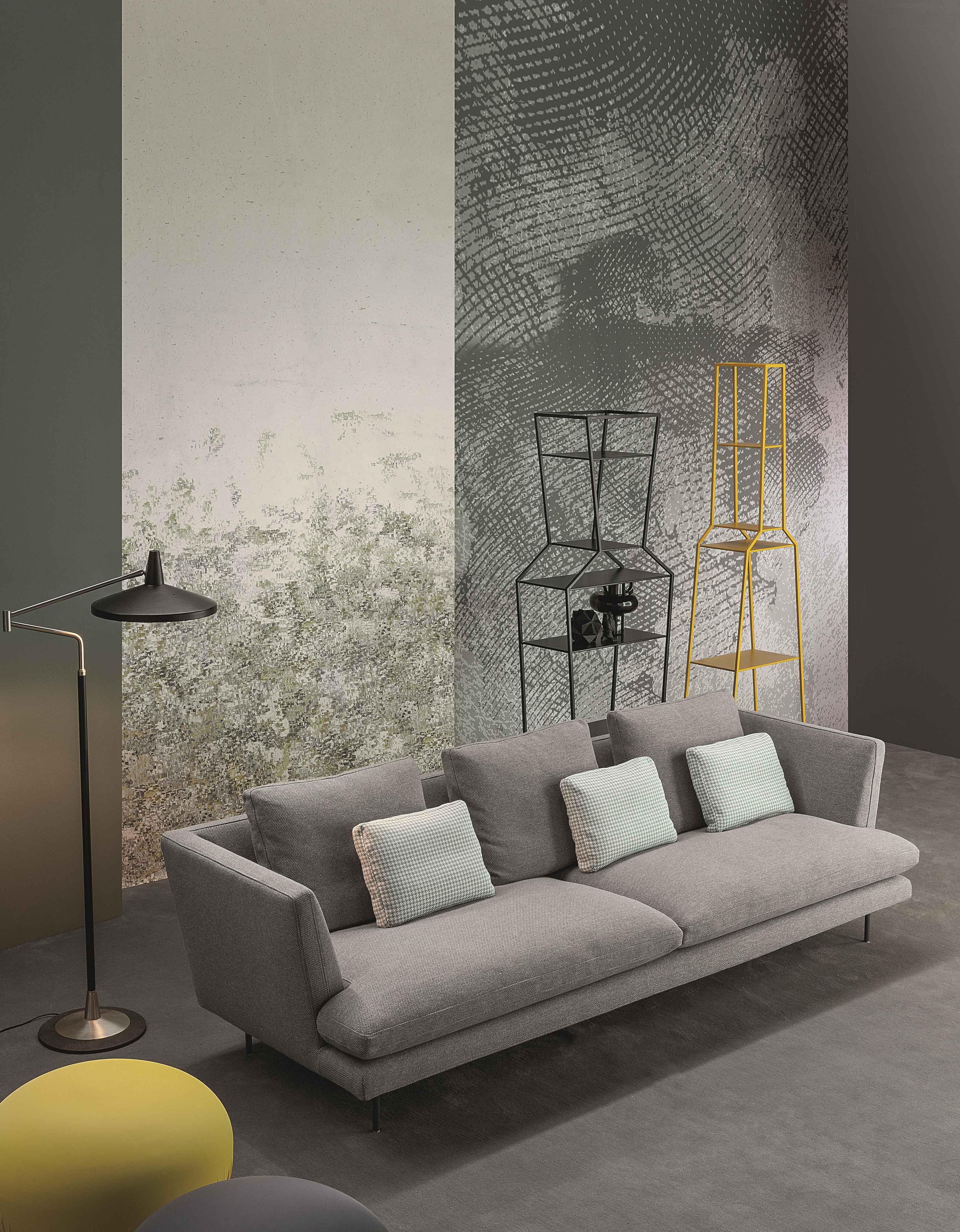 Divano Angolare Design Lars Bonaldo : Bonaldo lars la leggerezza è principale caratteristica