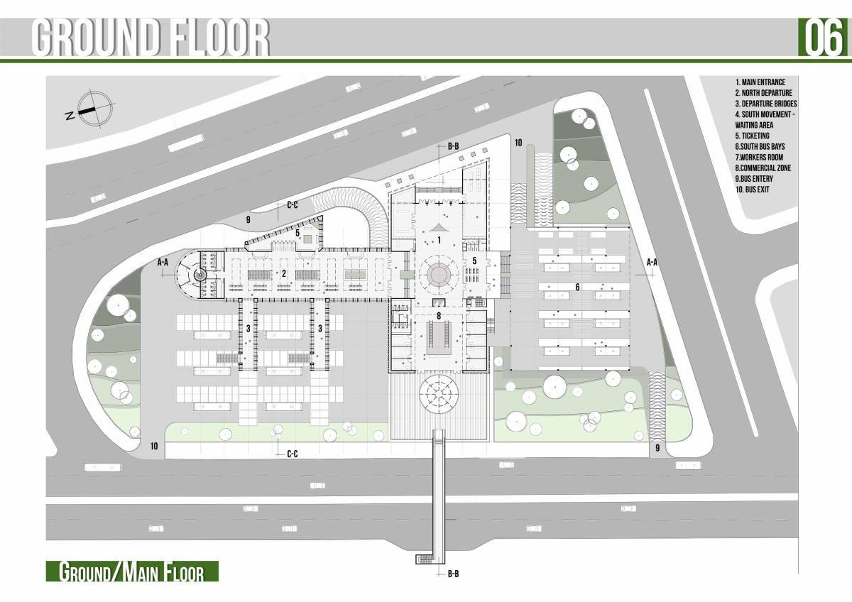 10 Bus Terminal Plan Ideas Bus Terminal Bus Bus Station