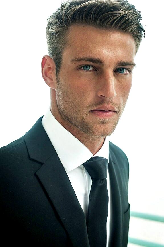 (model Heath Hutchins) Potongan rambut pria