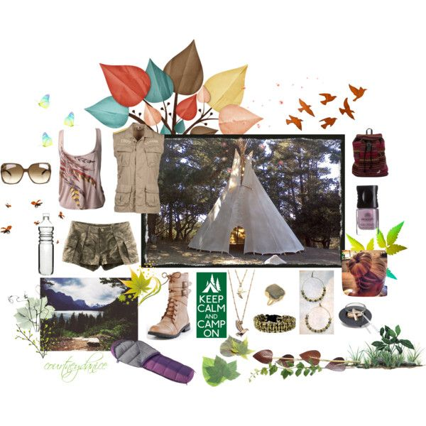 """""""Camp On!"""" by courtneydanice on Polyvore"""