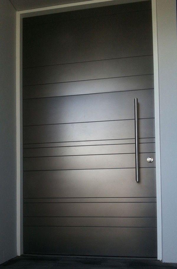 50 Modern Front Door Designs (Interior Design Ideas) Portes