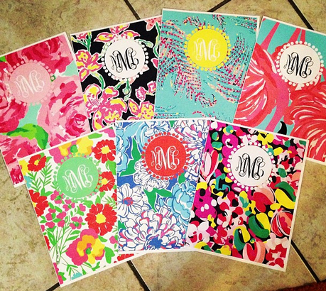 Campus ready college pinterest binder school and for Lilly d s craft supplies