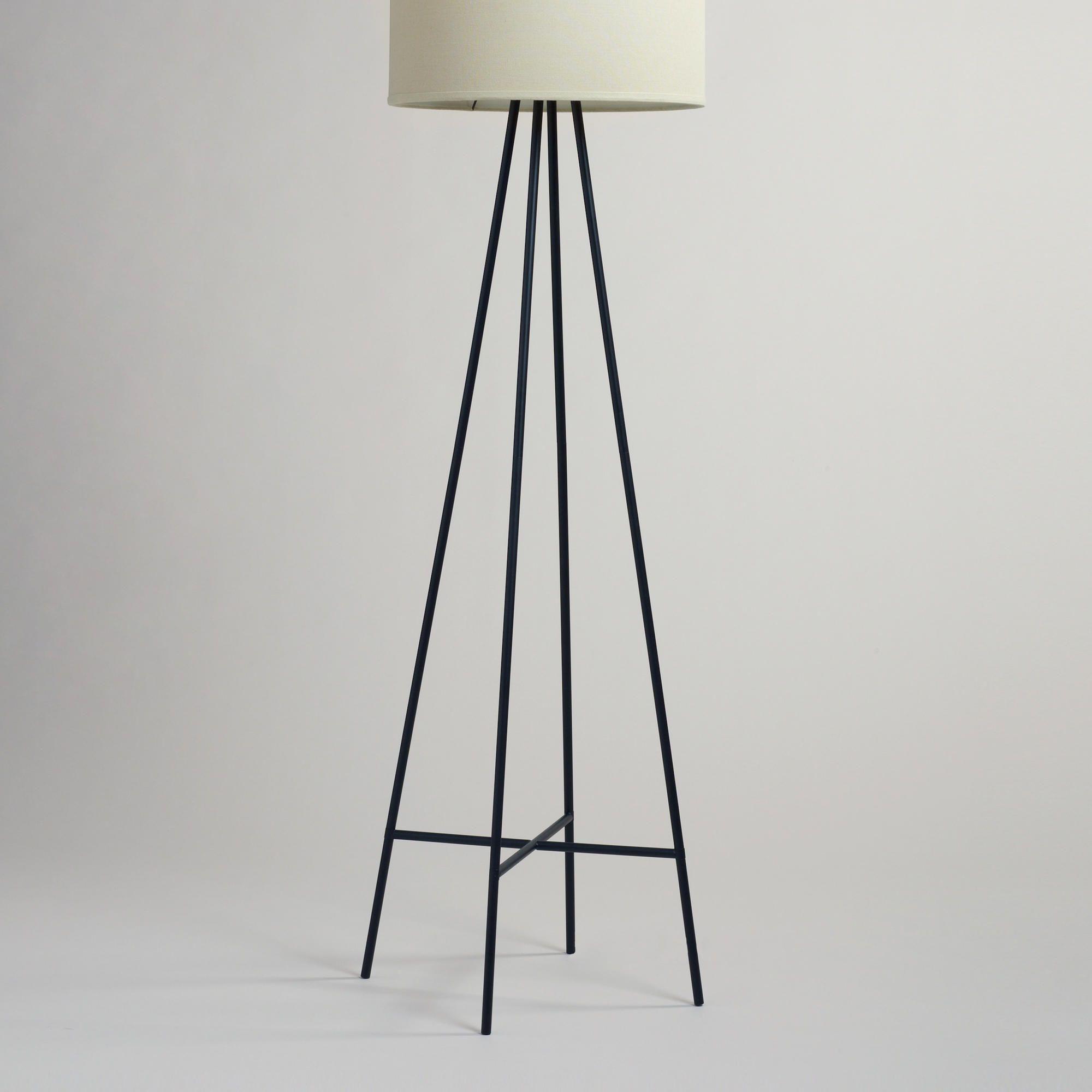 Tristan Floor Lamp Stand   World Market - Our Tristan Floor Lamp ...