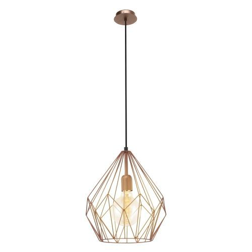 Carlton Copper Open Cage Pendant Light Vintage Ceiling Lights Pendant Light Ceiling Lights