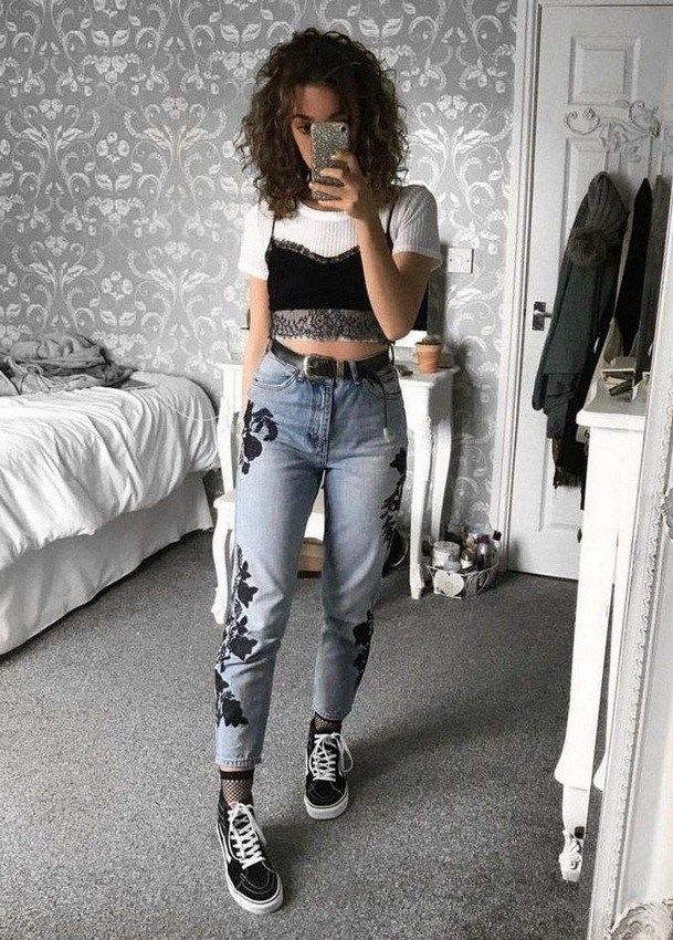 47 Good Inspiration Grunge Outfits Ideas For Women #grungeoutfits #grungeoutfits90s #grungeoutfitideas » Animebgx.net #90sgrunge