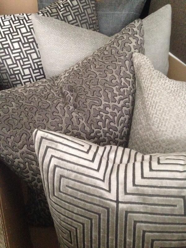 Home Owners Are Loving Taupe Silver Accents To Brighten Up Their Homes This Shade Coordinates With Chocolate Elegant Pillow Living Room Decor Pillows