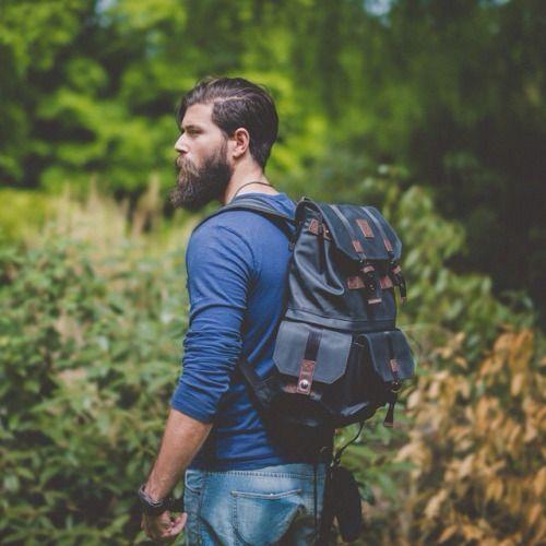 beards and rucksacks
