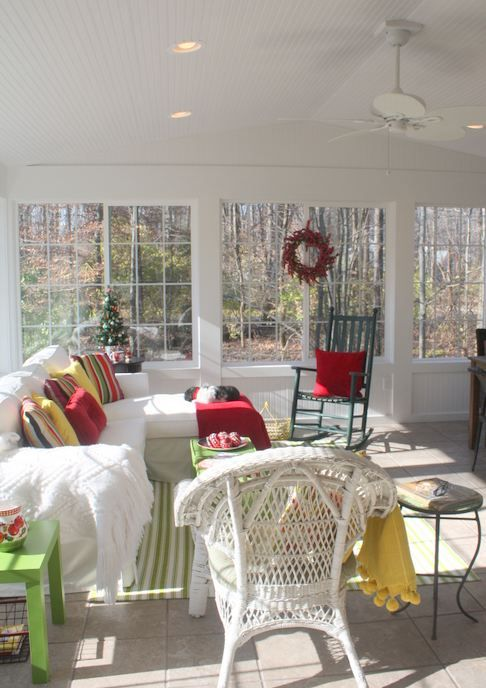 Sunroom - what do you think, Laura?
