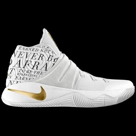 the latest 31d28 8694a Nike Kyrie 2 iD Big Kids' Basketball Shoe Size 5Y (Gold ...
