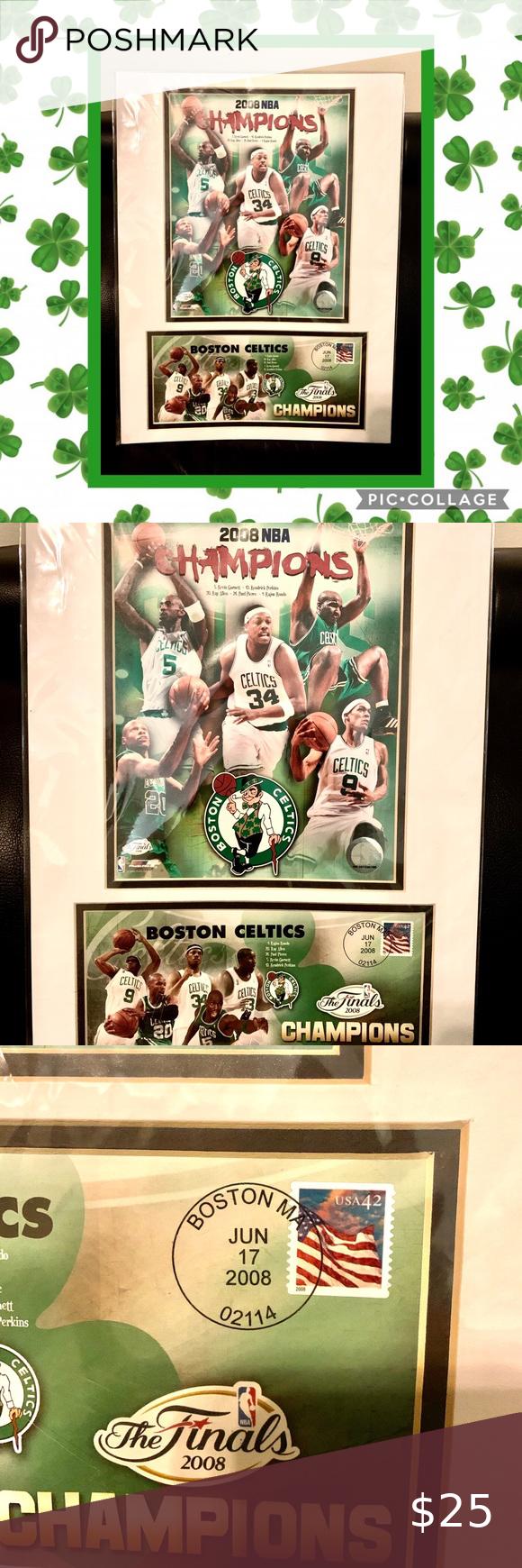 NEW NBA Official Boston Celtics Finals Poster 🍀 Boston