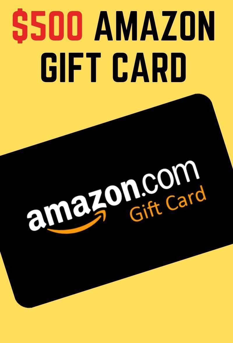 Photo of Amazon $500 Gift Card Giveaway.