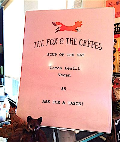 The Fox & The Crepes Vegan