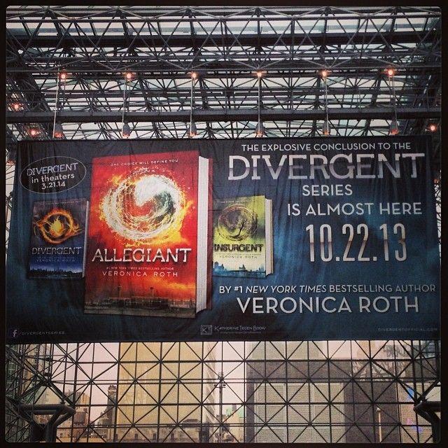 #Divergent #Allegiant #VeronicaRoth  #NYCC #JavitsCenter
