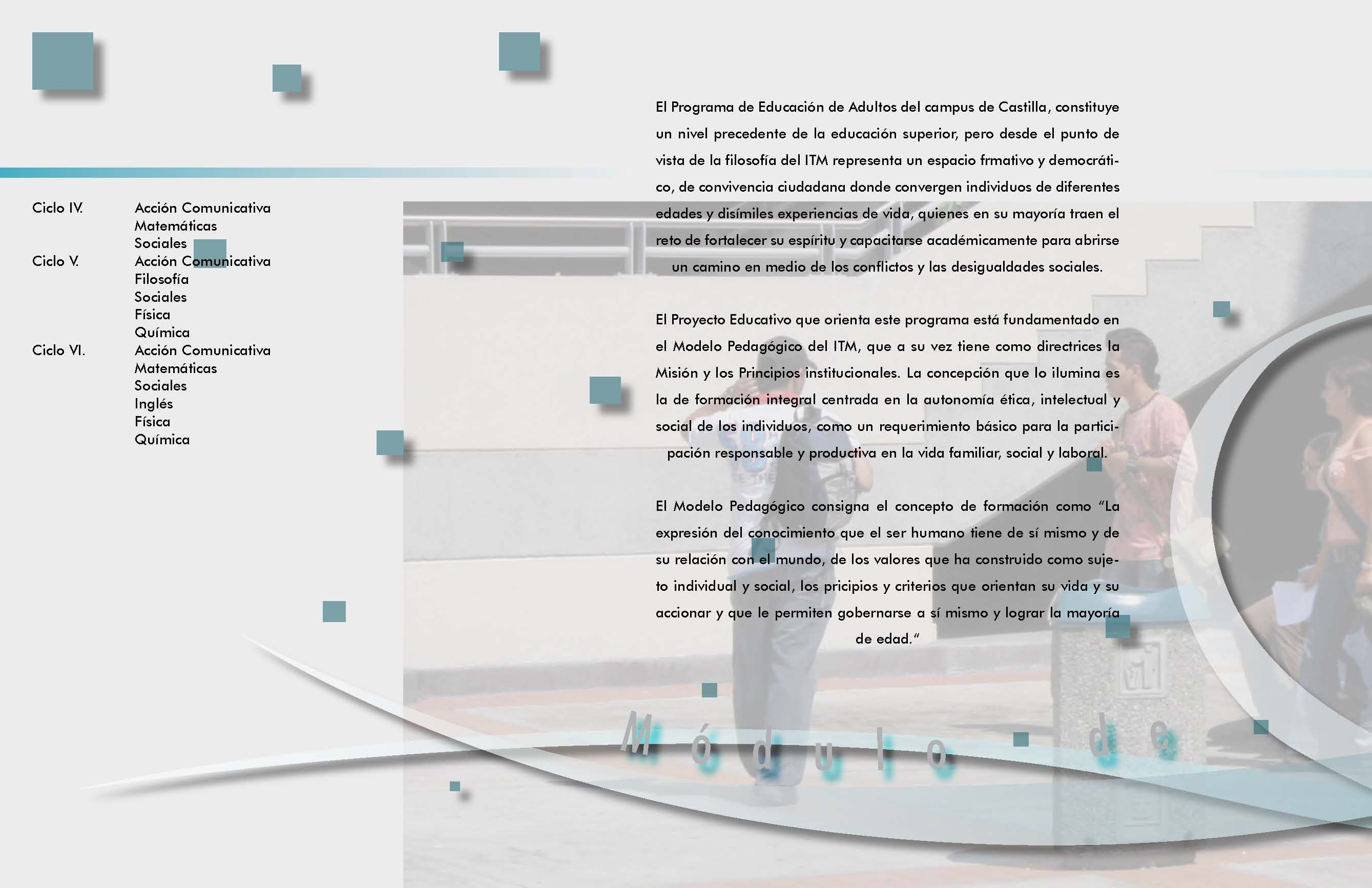 Módulos De Aprendizaje Para Bachillerato Semipresencial Itm