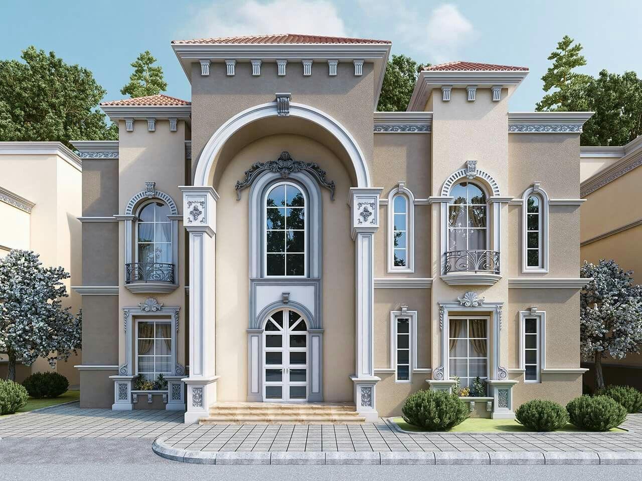 Pin Haiman Abdeladel Villa Classic House Design