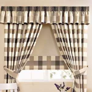 decoracin cortinas en la cocina interior de la casa diseo