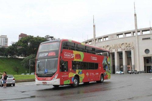 """SP ganha ônibus de turismo com dois andares e vista panorâmica_""""Circular Turismo Sightseeing SP"""""""