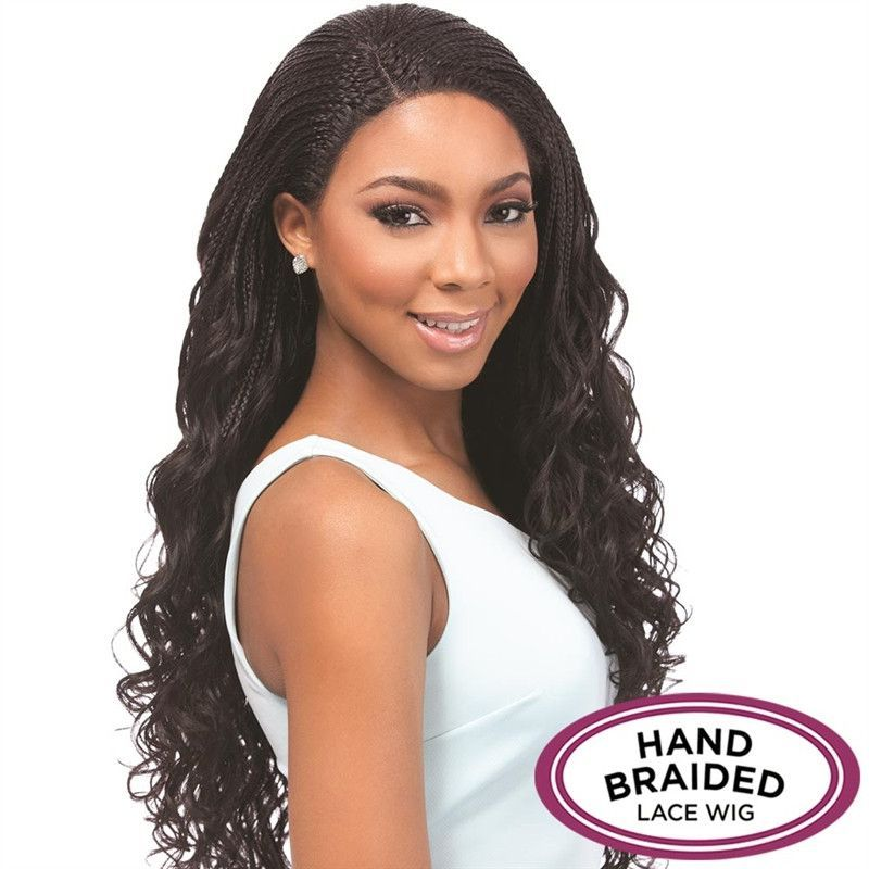 Senegal Collection Braided Lace Wig Loose Deep Braids Products