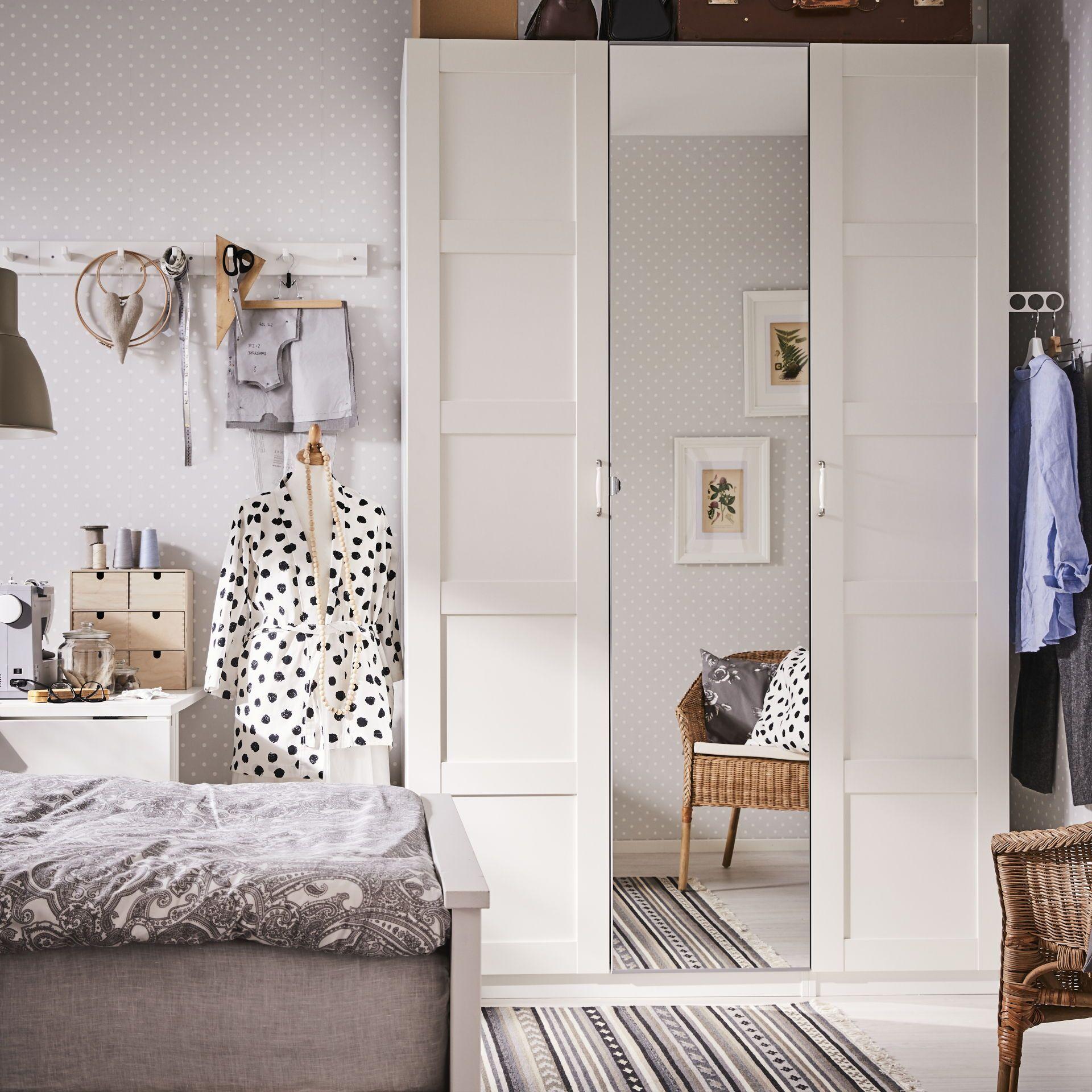 Bergsbo Deur Met Scharnieren Wit Pax In 2019 Ikea Pax