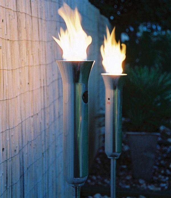 Outdoor Patio Torch Lights: Hotspot Olympic Torch Outdoor Gas Light