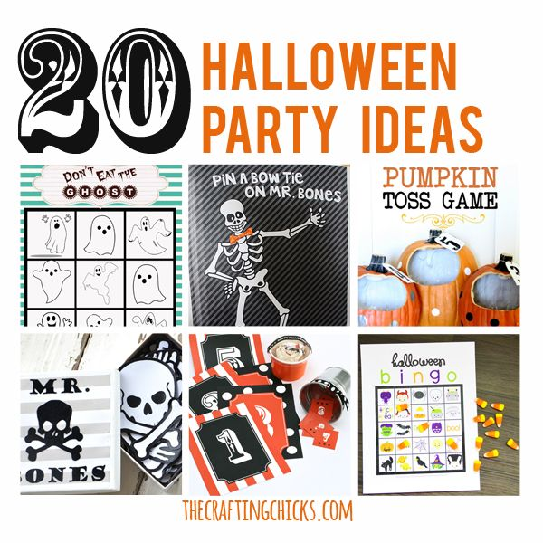 20 Halloween Party Games