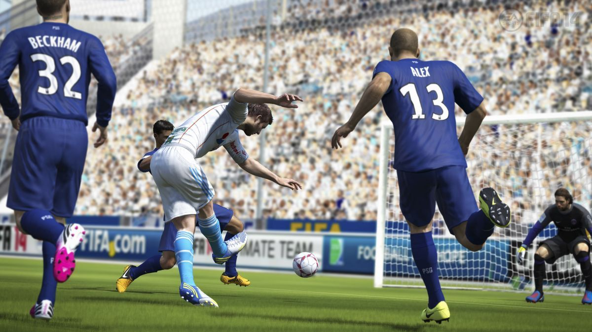 FIFA 14's nextgen engine won't be igniting PC gamers