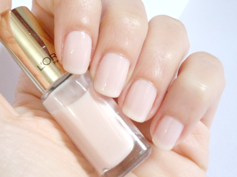 L\'oréal Color Riche Nailpolish In Rose Paradis - Review & Swatches ...